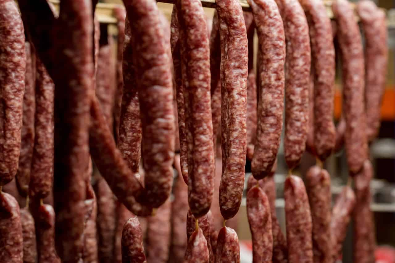 Traditionelle Wurstwaren der Metzgerei Harth